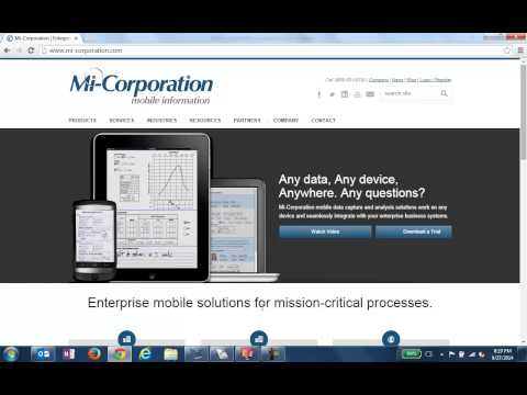 Mi-Corporation Demo Forms Library