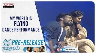 My world Is Flying Dance Performance @ Hello Guru Prema Kosame Pre-Release Event - ADITYAMUSIC