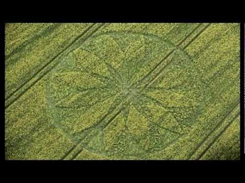Crop circles 2012: Hill Barn near East Kennett, Wiltshire, UK 15 April