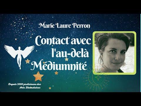 Dialogue avec les Morts par Marie laure PERRON Médium pour l'Association Sanlymite de La Rochelle