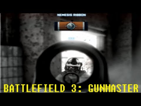 BF3 (Close Quarters - Gunmaster): Kills cut of a won round (1080p Gameplay)