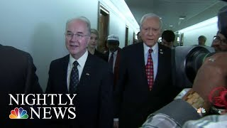 HHS Watchdog Investigating Secretary Tom Price's Travel | NBC Nightly News - NBCNEWS