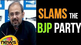Manish Sisodia Slams The Bharatiya Janata Party Over The 9 Advisers | Mango News - MANGONEWS