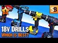 18 Volt Drills Review - Which is best in test?