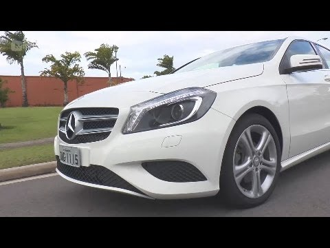 [TV TRIBUNA] TN Motores e Ação faz test Drive no Mercedes Classe A