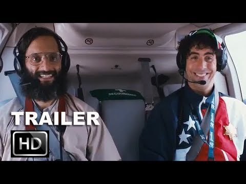 The Dictator Official Trailer 2 HD Sacha Baron Cohen as Admiral General Aladeen ENTV