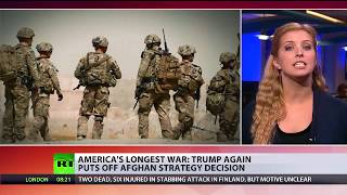 Afghan Impasse: Trump again puts off strategy decision on longest US war - RUSSIATODAY