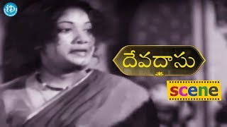 #Mahanati Savitri Devadasu Movie Scene - Savitri Comes To Know About ANR's Death || ANR, Savitri - IDREAMMOVIES