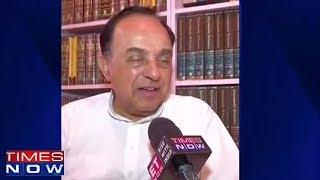 Subramanian Swamy Reacts On Impeachment Motion - TIMESNOWONLINE