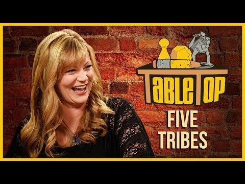 Five Tribes: Jenna Busch, Satine Phoenix, and Richard Garriott Join Wil on TableTop