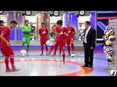 Türkiye U20 Milli Takımı Oyuncuları Ben Bilmem Eşim Bilir Proğramında
