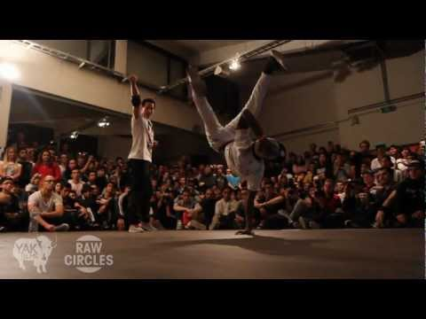 RAW CIRCLES 2012 Bboy Battle in Belgium | YAK FILMS Recap
