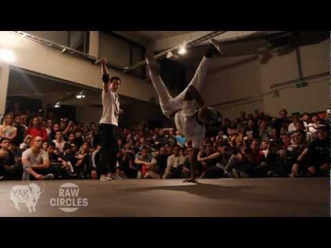 RAW CIRCLES 2012 Bboy Battle in Belgium | YAK FILMS Recap