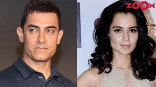 Aamir Khan claims he sees a lot of himself in Kangana Ranaut | Bollywood News - ZOOMDEKHO