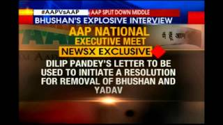 AAP meet: National executive likely to remove Yadav, Bhushan out of PAC - NEWSXLIVE