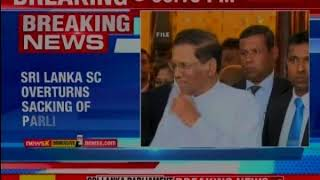 Sri Lanka SC overturns sacking of parliament - NEWSXLIVE