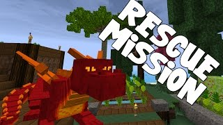 watch the youtube video Minecraft - Attack Of The B Team - Rescue Mission!! [27]