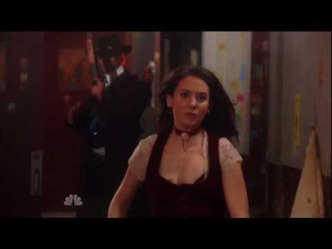 Community - Annie (Alison Brie) running in super slow motion 1080p HD