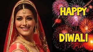 Sonali Bendre celebrates eco-friendly Diwali with zoOm! - EXCLUSIVE