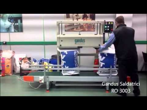 Gandus saldatrici packaging machines RO 3003