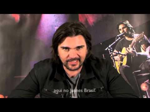 Recado do Juanes para os fãs brasileiros [2012]