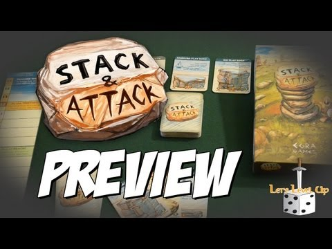 Stack & Attack by EGRA Games - LLU Preview - Kickstarter Live Now
