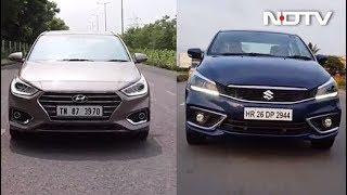 MS Ciaz vs Hyundai Verna, Mercedes-AMG G63 First Look And Ford Aspire - NDTV