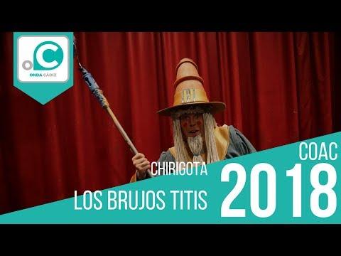 Sesión de Cuartos de final, la agrupación Los brujos titis actúa hoy en la modalidad de Chirigotas.