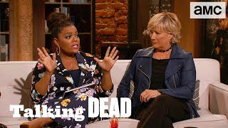 'The New Character Georgie & Female Empowerment' Highlights Ep. 812 | Talking Dead - AMC