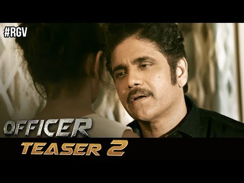 RGV's Officer Movie Teaser 2 | Nagarjuna | RGV | Myra Sareen | Ram Gopal Varma | #OfficerTeaser2