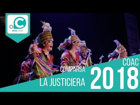 Sesión de Preliminares, la agrupación La Justiciera actúa hoy en la modalidad de Comparsas.