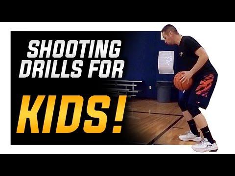 Basketball Shooting Drills For Kids: Beginners Shooting Drills