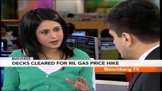 In Business- Decks Cleared For RIL Gas Price Hike - BLOOMBERGUTV