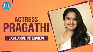 Actress Pragathi Exclusive Interview on #Coronavirus and Lockdown | Dil Se With Anjali #188 - IDREAMMOVIES