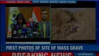 39 bodies were found in graves; first photos of mass graves on NewsX - NEWSXLIVE