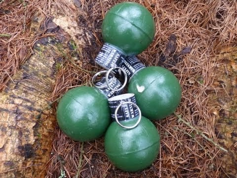 Airsoft Grenade - TLSFX Ring Pull Grenade
