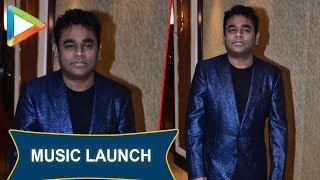 A.R. Rahman at the GRAND music launch of movie Maaza Agadbam - HUNGAMA