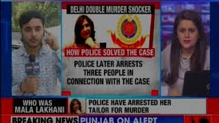 Delhi Double Murder: Mala's tailor killed her and servant after looting - NEWSXLIVE