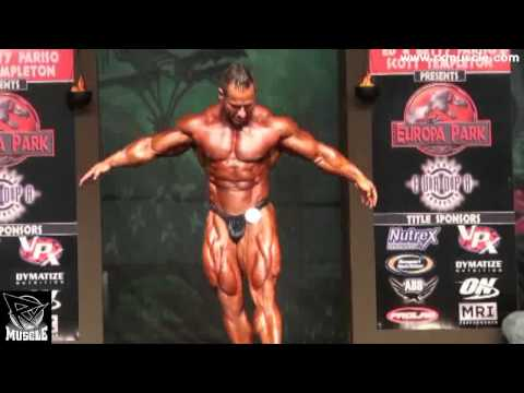 Mike Liberatore Posing Routine at 2011 Europa Super Show