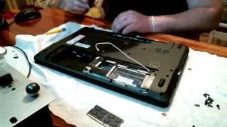 Разборка ноутбука Packard Bell TS11 HR 380RU