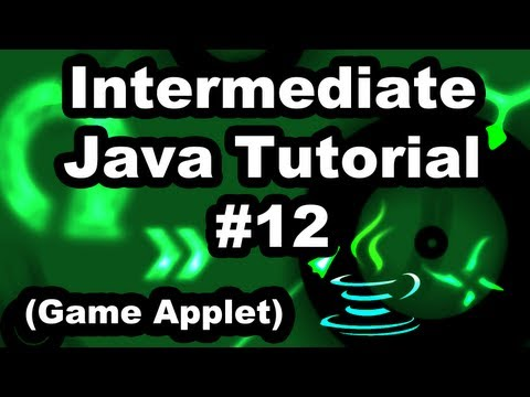 Learn Java 2.12- Game Applet- Collision Detection Basics