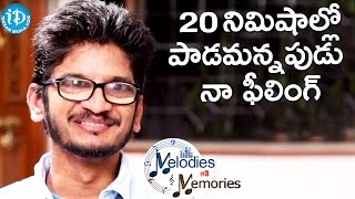 My Feeling When They Ask Me To Write A Song - Ananta Sriram || Melodies & Memories - IDREAMMOVIES