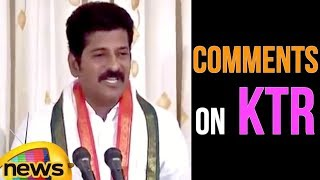 Revanth Reddy Sensational Comments On Minister KTR | Mango News - MANGONEWS