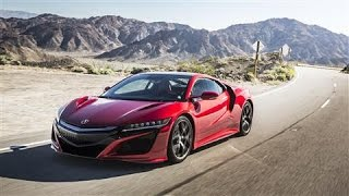 Rumble Seat: 2017 Acura NSX - WSJDIGITALNETWORK