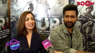 Vicky Kaushal & Yami Gautam share their happiness over response for Uri | Exclusive Interview - ZOOMDEKHO
