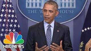President Obama Shares Most Constructive Advice He's Given President-elect Trump | NBC News - NBCNEWS