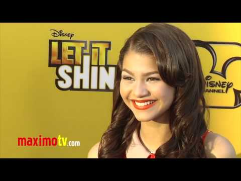 "Zendaya Coleman ""Let It Shine"" Premiere Arrivals - Maximo TV Red Carpet Video"
