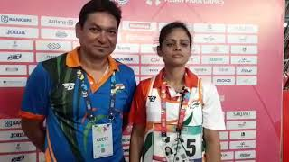 Para Asian Games : Nidhi Mishra wins Bronze medal in discus throw - ITVNEWSINDIA