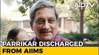 Manohar Parrikar Returns To Goa From Delhi, Is Stable, Says Office - NDTV
