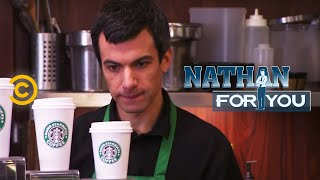 Nathan For You - Dumb Starbucks - Hiring Staff - COMEDYCENTRAL